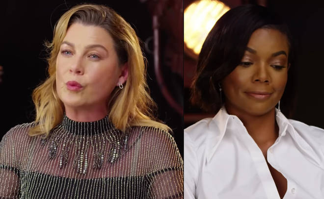 Ellen Pompeo and Gabrielle Union