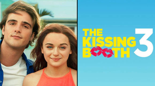 What time is The Kissing Booth 3 released on Netflix?