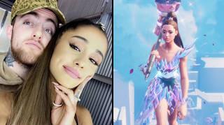 "Ariana Grande fans are ""sobbing"" over her Mac Miller tribute in her Fortnite concert"