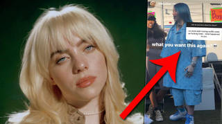"""Billie Eilish claps back at fan who says she dresses """"boring"""" now"""