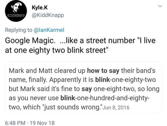 blink 182 debate