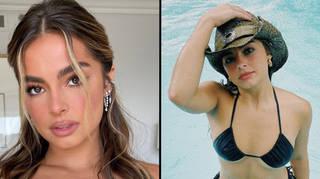 Addison Rae rocks upside down bikini on Instagram