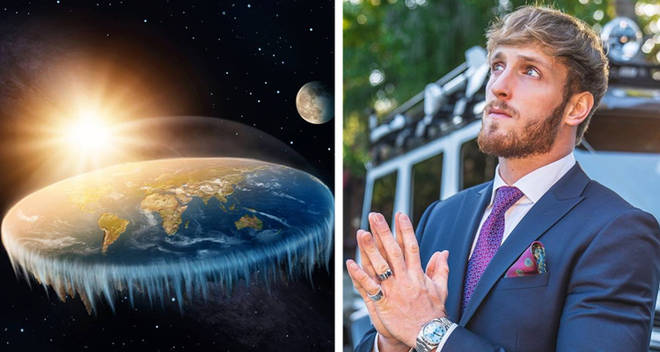 Logan Paul flat earth