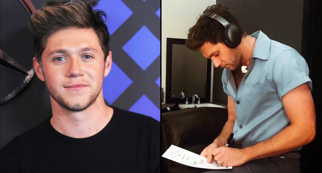 Niall Horan attends the broadcast room at the Z100's Jingle Ball 2016/Niall Horan writing music
