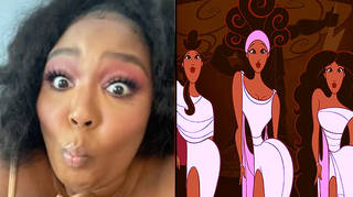 Lizzo reacts to live-action Hercules fan-casting on TikTok