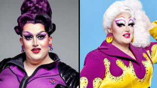 Drag Race UK Lawrence Chaney and Victoria Scone