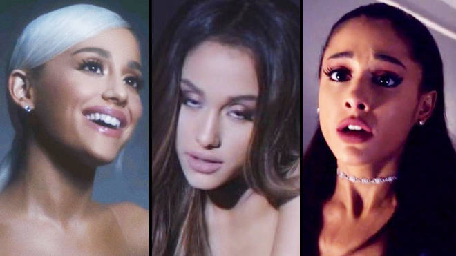 Ariana Grande as love, patience and pain in 'thank u, next'