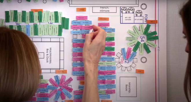 Met Gala's seating chart revealed in Vogue documentary