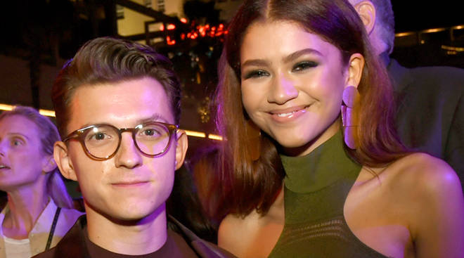 Tom Holland and Zendaya fans are sobbing over photos of them at a wedding