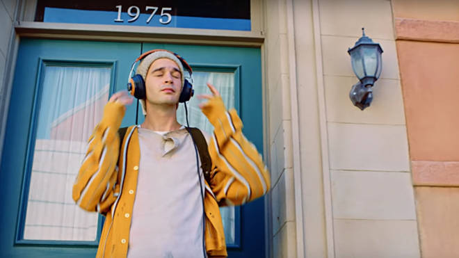 The 1975 'Sincerity Is Scary' easter eggs. The door.