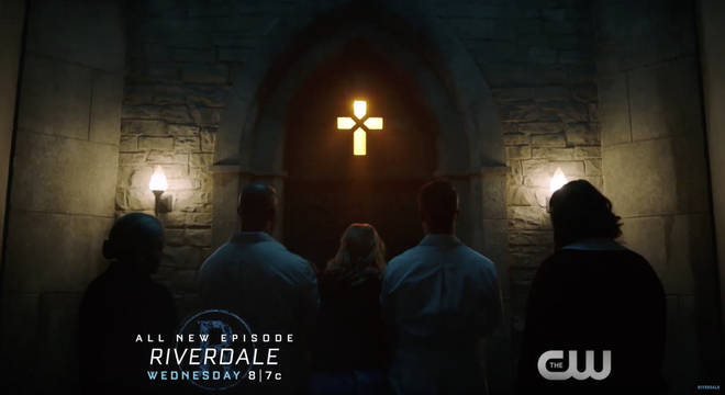 Riverdale season 3, episode 7 - Betty is taken to the Sisters of Quiet Mercy