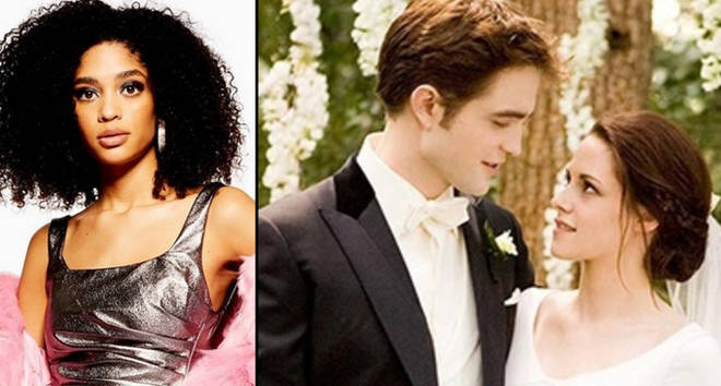 Topshop model/Bella Swan and Edward Cullen wedding day