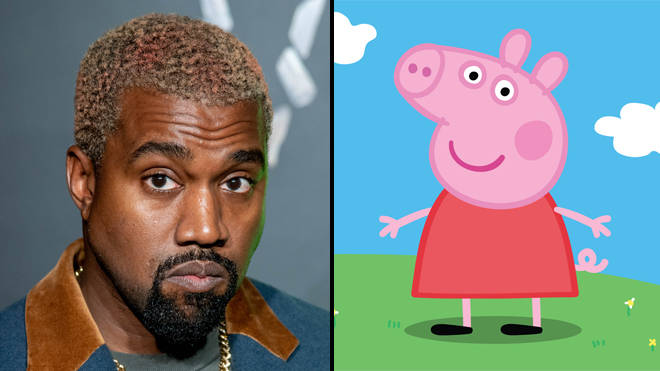 Peppa Pig roasts Kanye West after getting a better album review than Donda