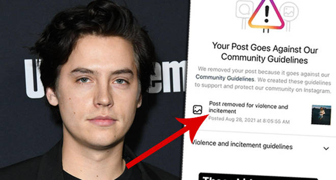 Cole Sprouse calls out fans for getting a picture of his girlfriend removed from Instagram