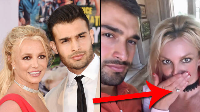 Britney Spears gets engaged and Sam Asghari confirms he's signed a prenup