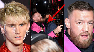 The Machine Gun Kelly and Conor McGregor MTV VMAs 2021 fight explained