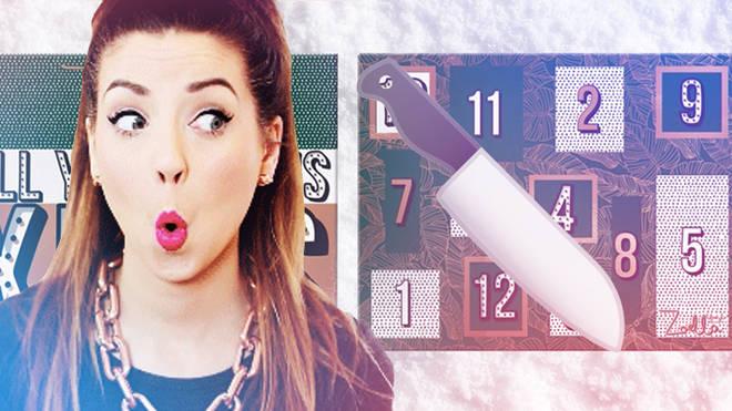 Zoella Advent Calendar knife