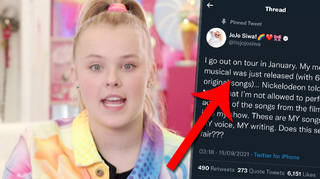 JoJo Siwa calls out Nickelodeon for not letting her perform J-Team songs on new tour