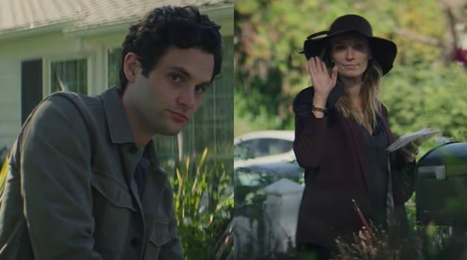 Joe Goldberg meets Natalie the neighbour in You season 3