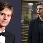 Evan Peters wins his first Emmy award for Mare of Easttown