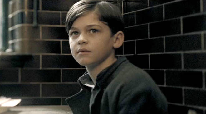 Hero Fiennes-Tiffin as young Tom Riddle in Half Blood Prince
