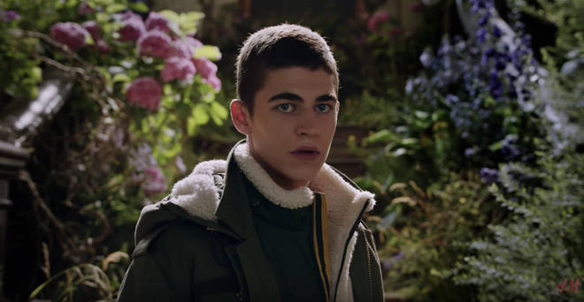 Hero Fiennes-Tiffin in H&M x ERDEM