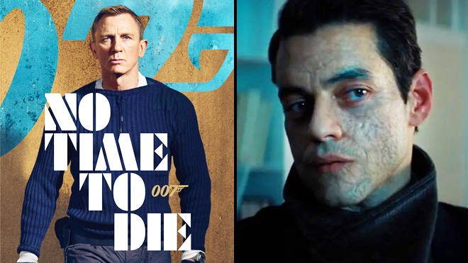 No Time to Die called out over Rami Malek's facial scarring in the James Bond movie