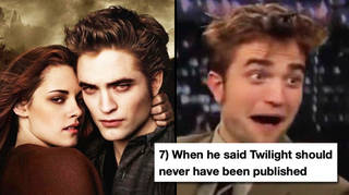 15 times Robert Pattinson hated Twilight more than anyone else