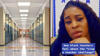 What is the Slap a Teacher Challenge on TikTok?
