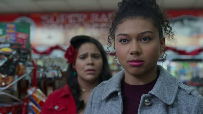 Monse and Jasmine in On My Block season 4