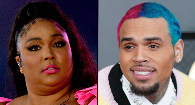 """Lizzo is receiving backlash for calling Chris Brown her """"favourite person"""""""