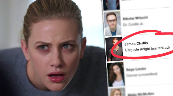 A character called 'The Gargoyle Knight' is credited on Riverdale's IMDb, but who is he?