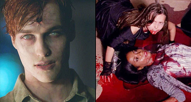 Jason Blossom as a zombie/American Horror Story murder scene
