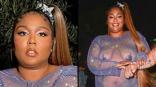 Lizzo fans defend her after she's criticised for wearing a see-through dress