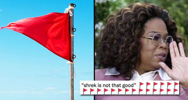 All the best Red Flag emoji memes from viral Twitter trend