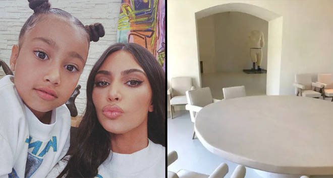 Kim Kardashian says North West insults her house when they argue