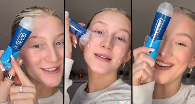 People are using lube as primer as a beauty hack and I honestly cannot