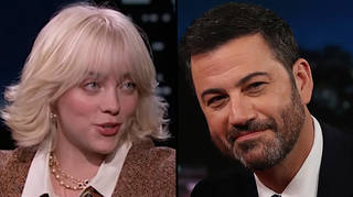 """Billie Eilish calls out Jimmy Kimmel for making her look """"stupid"""""""
