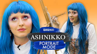 Ashnikko on Potrait Mode