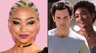 Tati Gabrielle opens up about filming sex scene with Penn Badgley in You season 3