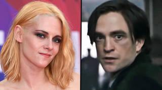 Kristen Stewart reacts to suggestions she should play The Joker alongside Robert Pattinson's Batman