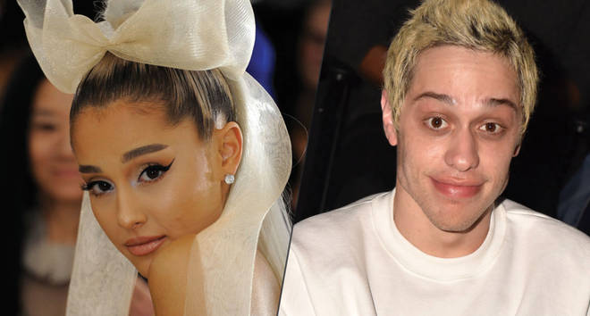 Ariana Grande and Pete Davidson Instagram comment