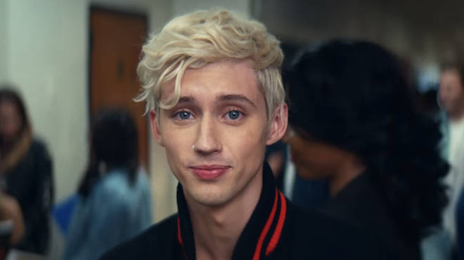 Troye Sivan in the 'thank u, next' music video