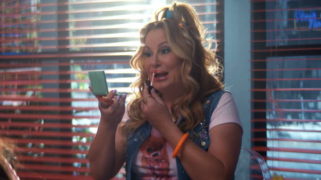 Jennifer Coolidge as Paulette in the 'thank u, next' music video