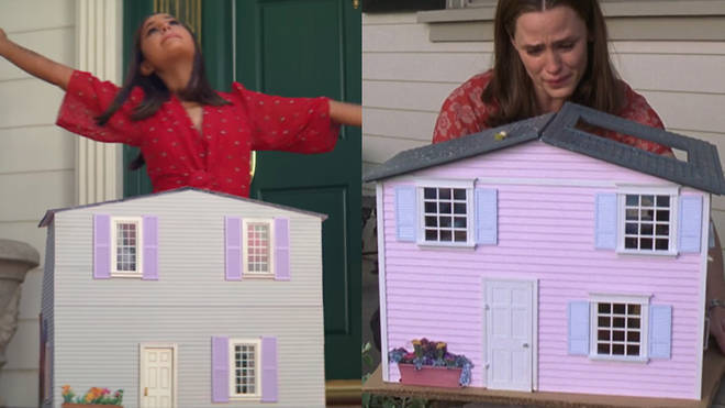 Ariana Grande's dolls house is the same as the one in 13 Going On 30