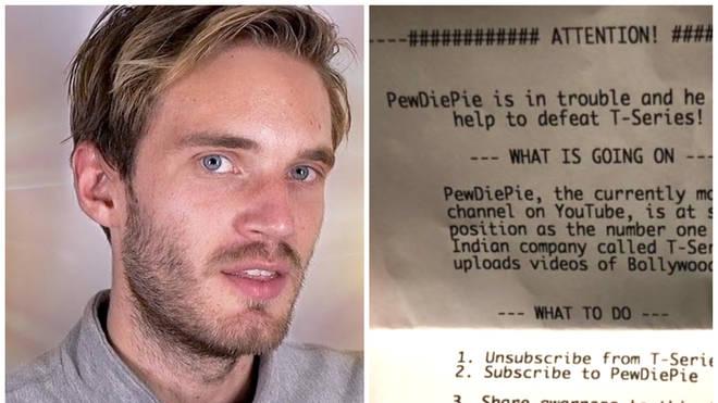 PewDiePie Printer Hacked