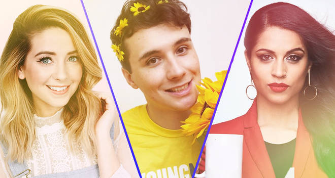 Zoella, Daniel Howell and Lilly Singh major youtubers