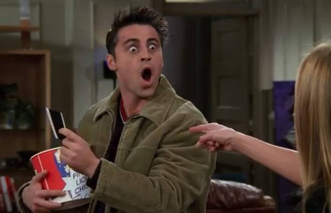 Joey Friends shocked