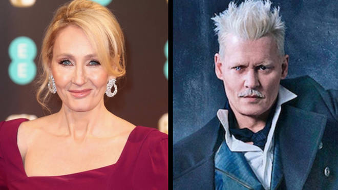 JK Rowling & Johnny Depp