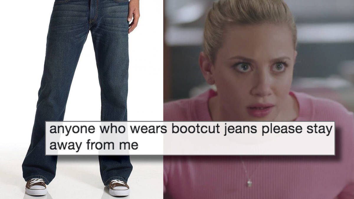 34921b47dec3 Bootcut jeans are allegedly back in style and the memes are so savage -  PopBuzz